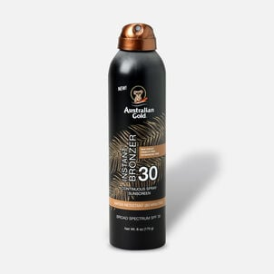 Australian Gold Continuous Spray With Instant Bronzer, SPF 30, 6oz.