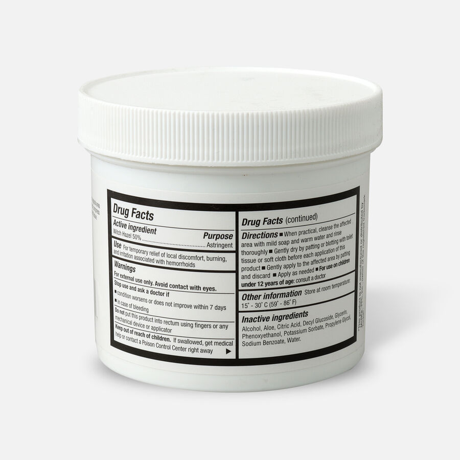 GoodSense® Medicated Pads with Witch Hazel Canister, 100 ct, , large image number 1