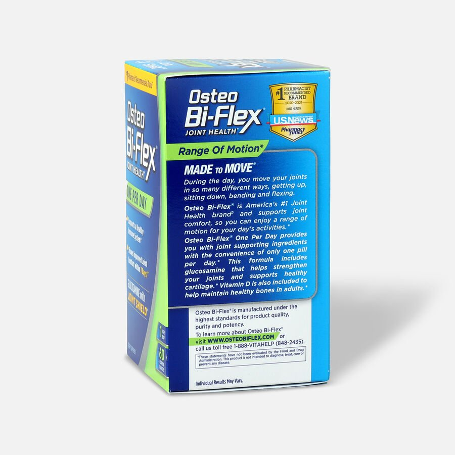 Osteo Bi-Flex One Per Day Coated Tablets, 60 Ct, , large image number 3