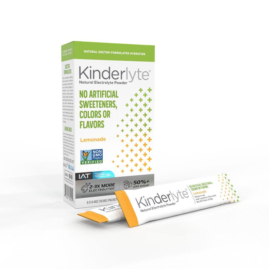Kinderlyte Electrolyte Powder, 6 Count, , large image number 1