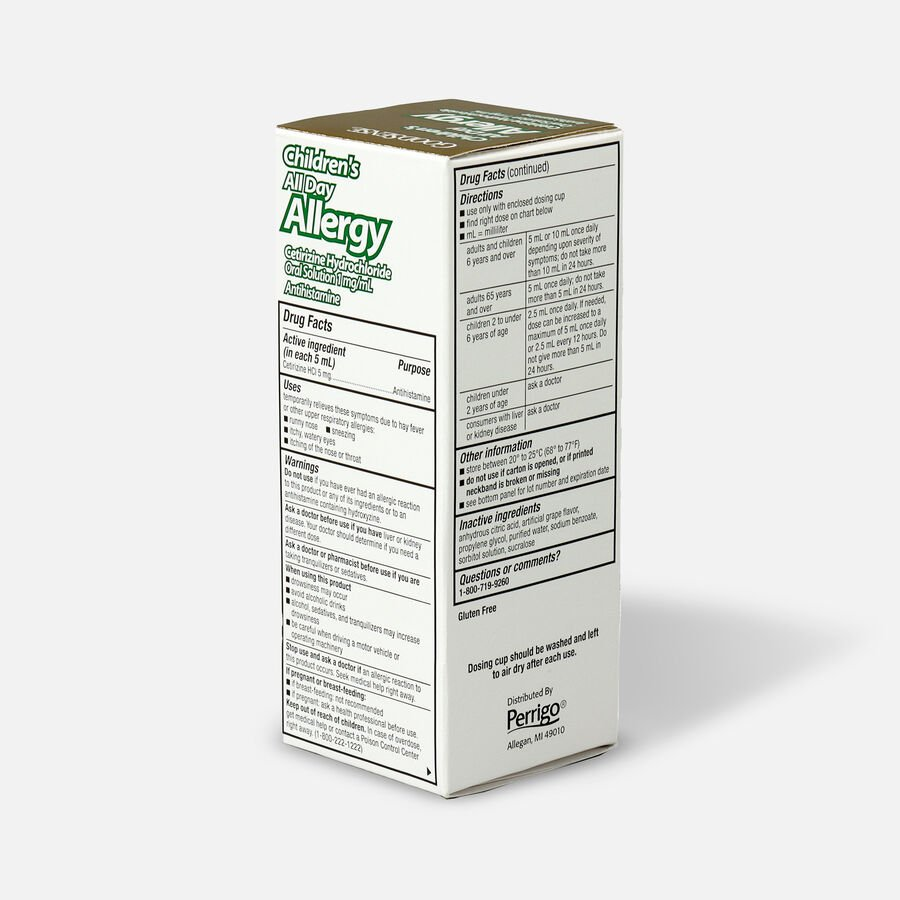GoodSense® Child All Day Allergy Cetirizine 24-Hr Grape Flavor 4 fl oz , , large image number 3