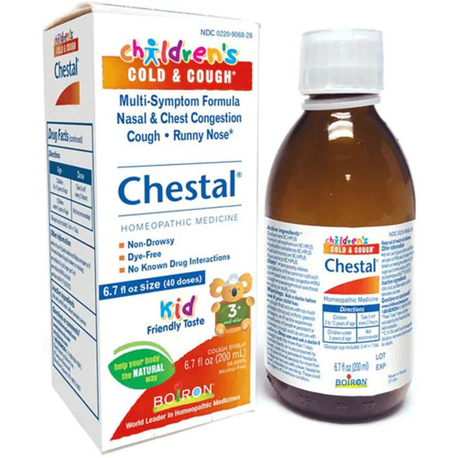 Boiron Children's Chestal Cough and Cold, 6.7 fl oz, , large image number 4
