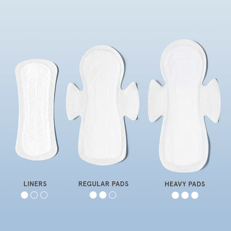 LOLA Ultra Thin Pads with Wings, Heavy, 16ct, , large image number 4