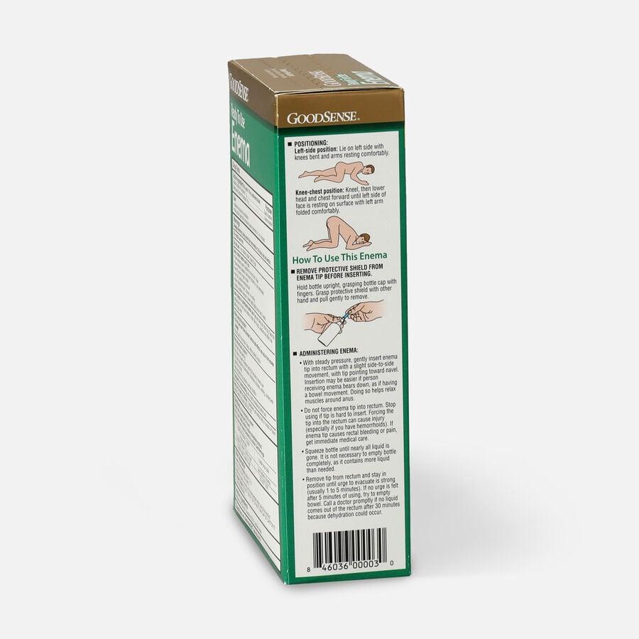 GoodSense® Ready To Use Enema Saline Laxative, 2 (4.5 fl oz units), , large image number 4