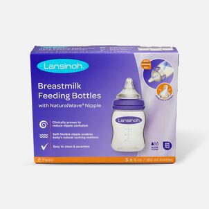 Lansinoh Breastmilk Storage Bottles, 3 Pack