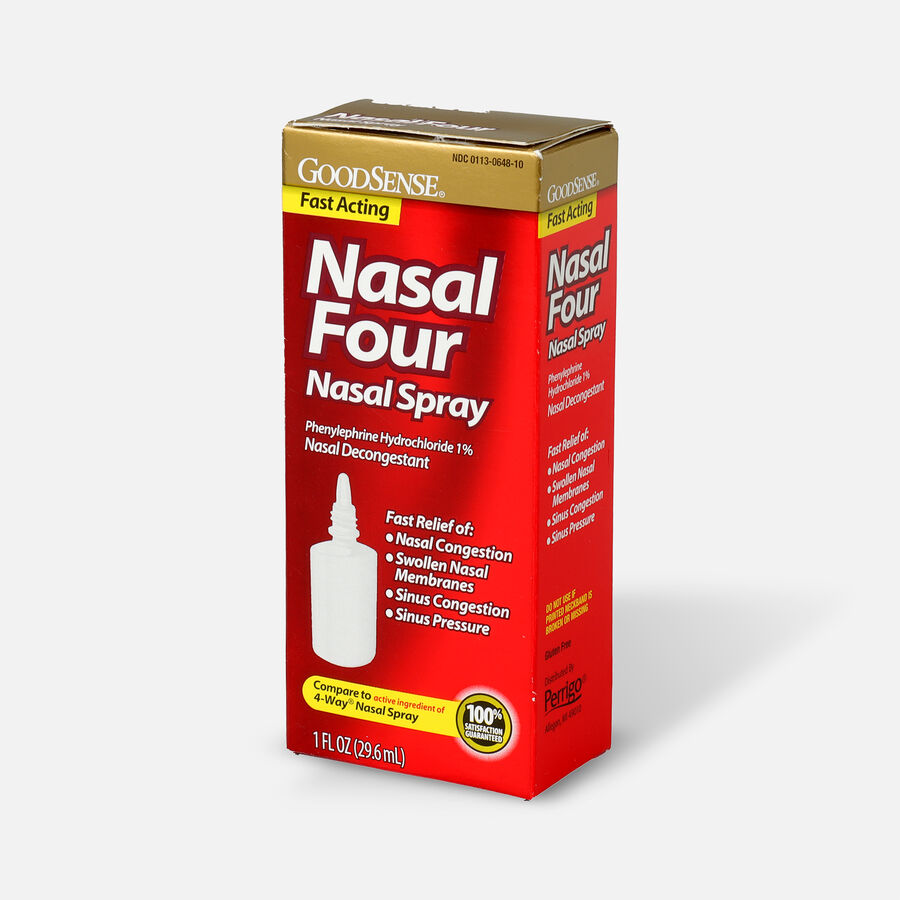 GoodSense® Nasal Four Nasal Spray, 1 fl oz, , large image number 2
