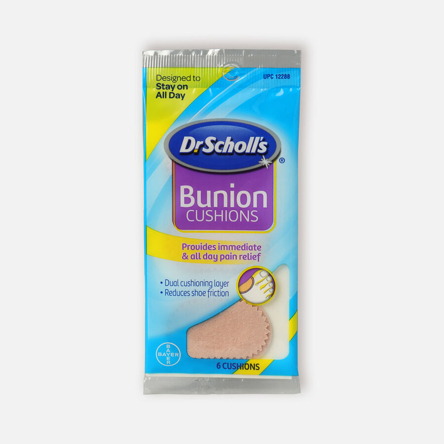 Dr. Scholl's Bunion Cushions with Comfortplus, 6 ea, , large image number 0
