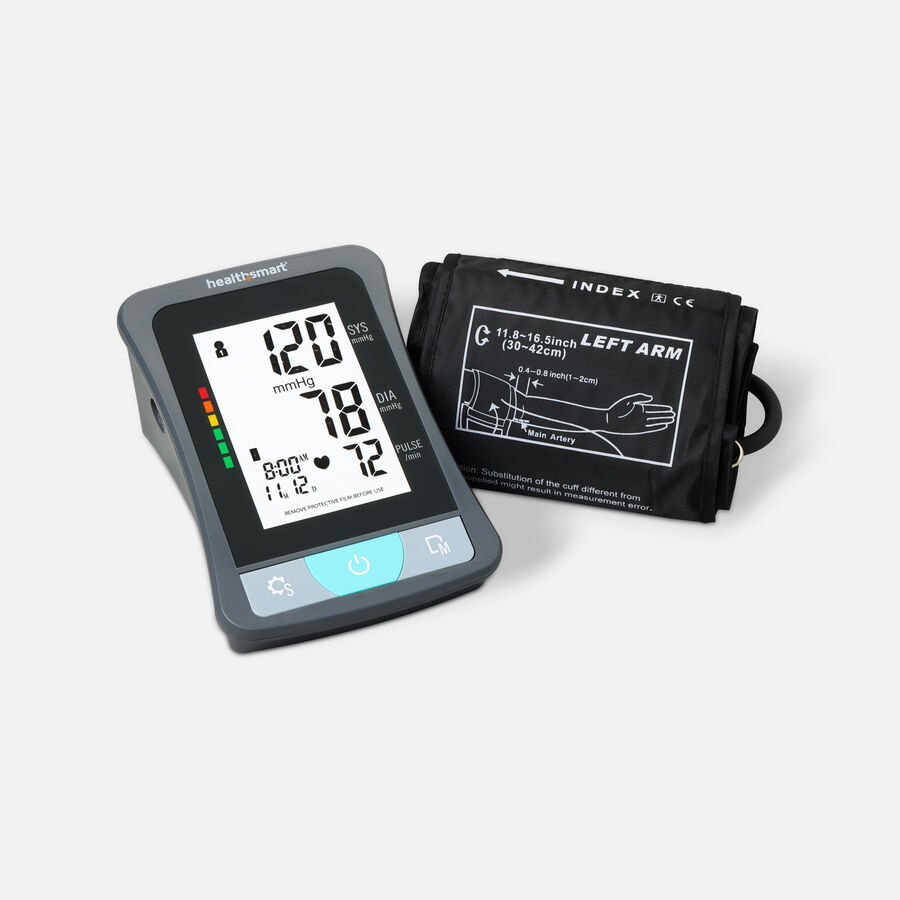 HealthSmart Upper Arm Blood Pressure Monitor with LCD Display, , large image number 3
