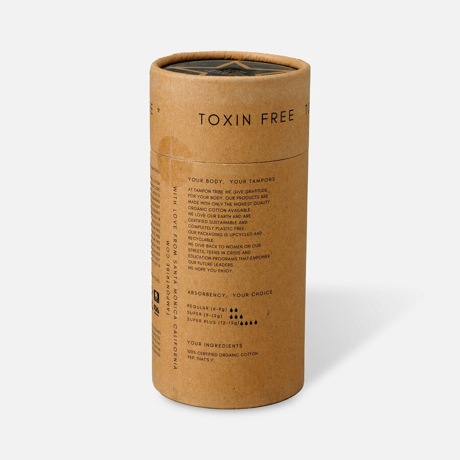 Tampon Tribe Organic Cotton Applicator Tampons, , large image number 11