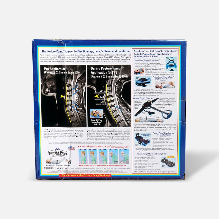 Posture Pump® Dual Disc Hydrator®, Relieves Neck Pain, Model 1400-D, , large image number 2