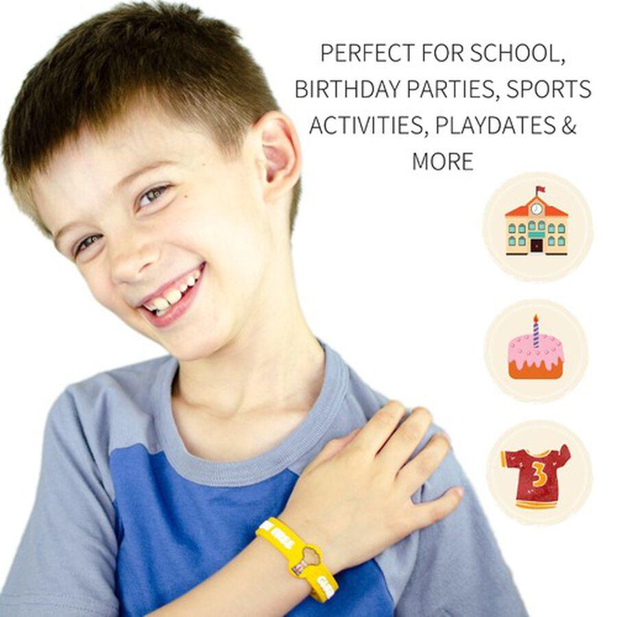 AllerMates Children's Allergy Alert Bracelet - Gluten Awareness, , large image number 2
