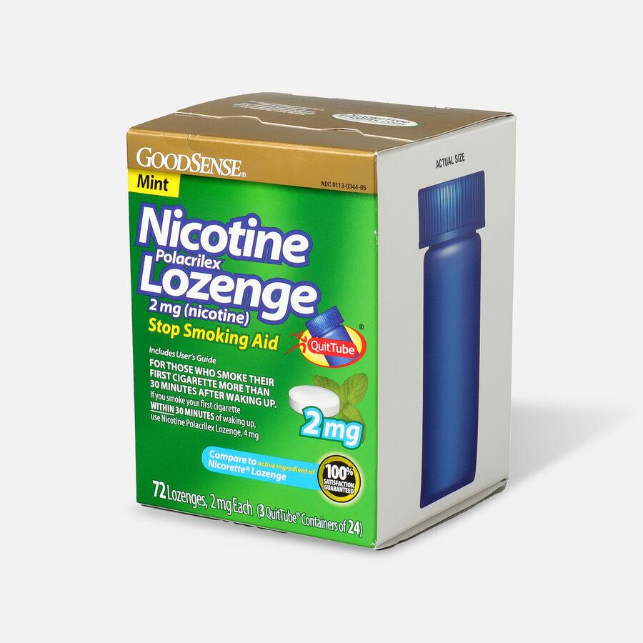 GoodSense® Nicotine Polacrilex Lozenge 2 mg (nicotine), 72 ct, , large image number 2