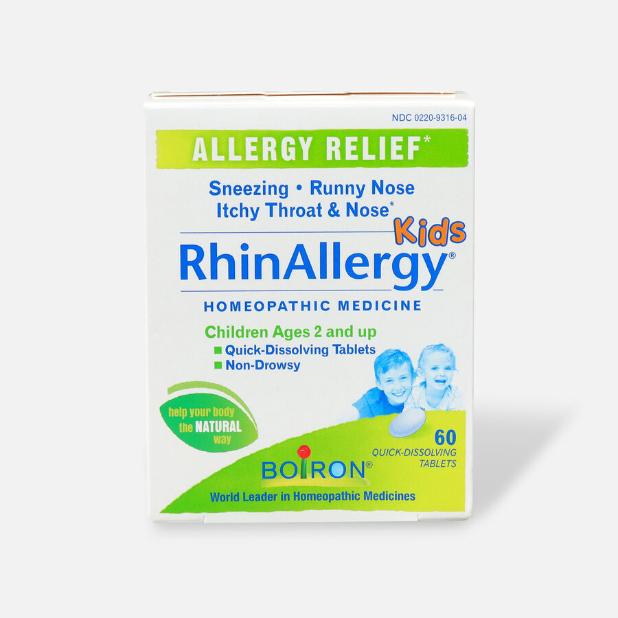 Boiron Rhinallergy Kids, 60 Tabs, , large image number 0