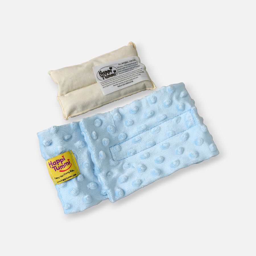 Happi Tummi Colic and Gas Relief Herbal Waistband, Minky Dot, , large image number 0