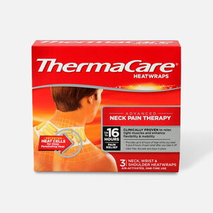 Thermacare Heat Wrap Neck, Shoulder and Wrist, 8HR, 3 ct