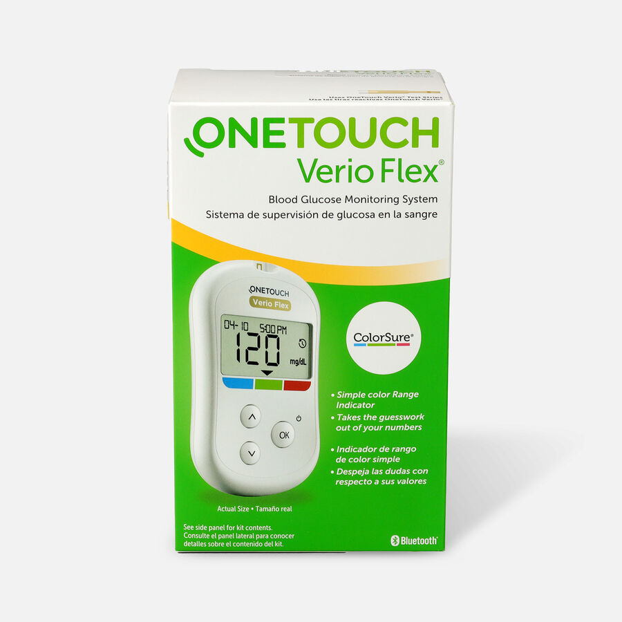 OneTouch Verio Flex Blood Glucose Monitoring System, , large image number 0
