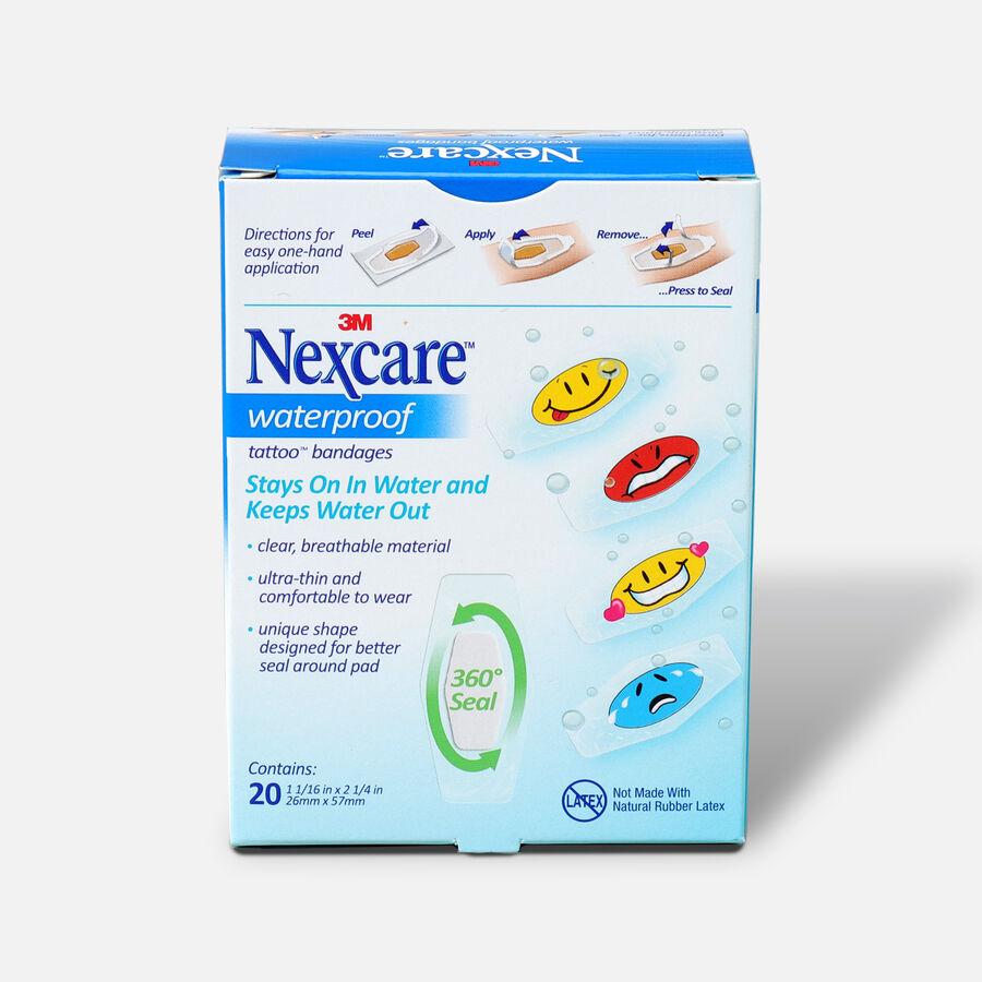Nexcare Kids Bandages, Tattoo Waterproof, 20 ea, , large image number 1