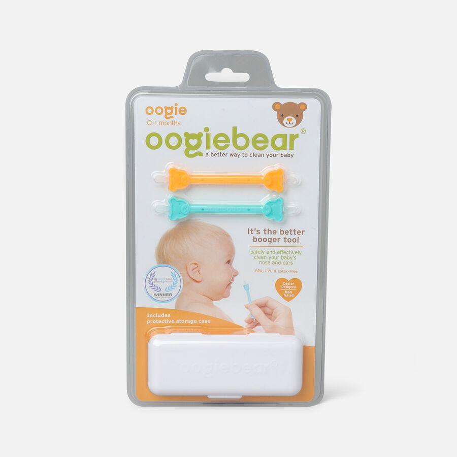 Oogiebear Baby Booger Picker with Case, 2-Pack, Orange/Seafoam, Orange/Seafoam, large image number 0