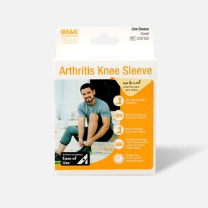 IMAK Compression Arthritis Knee Sleeve, Small