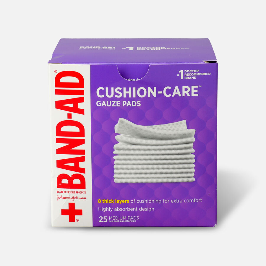 Band-Aid First Aid Gauze Pads 3x3, , large image number 0