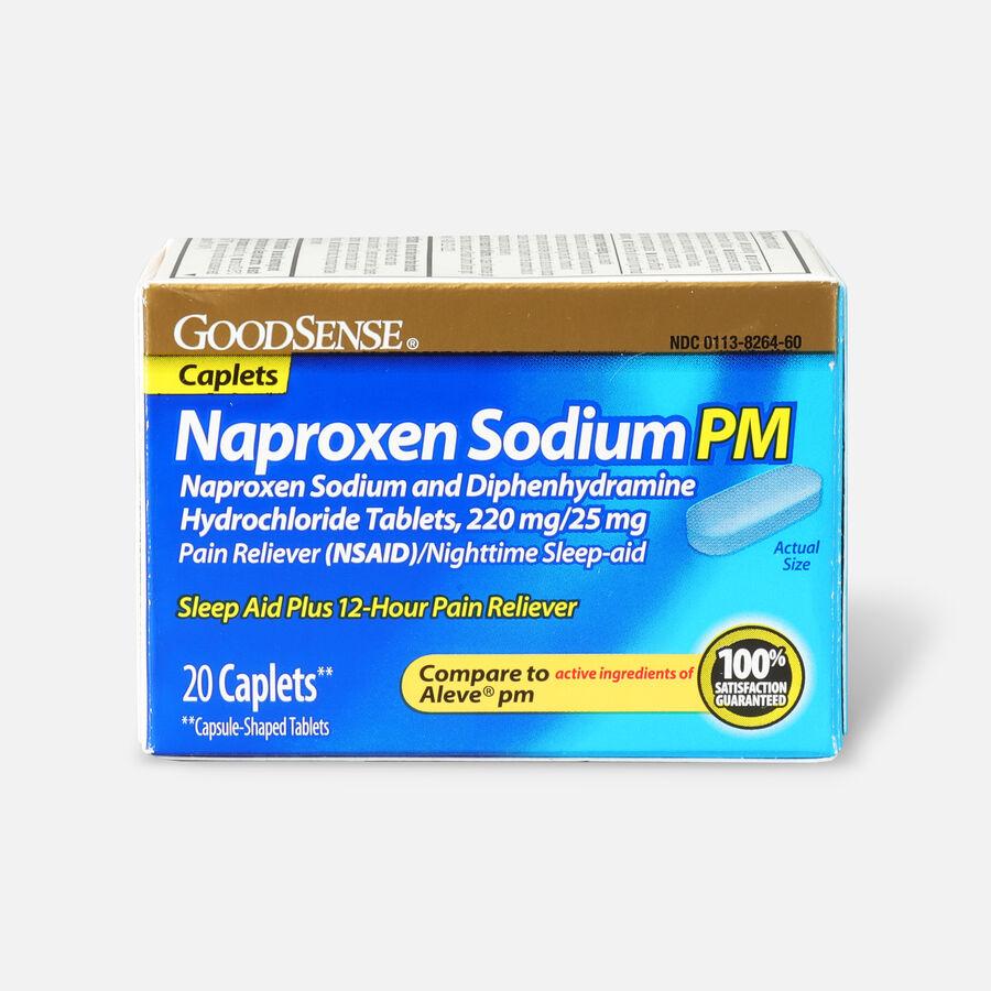 GoodSense® Naproxen Sodium PM & Diphenhydramine HCI Caplets, , large image number 0