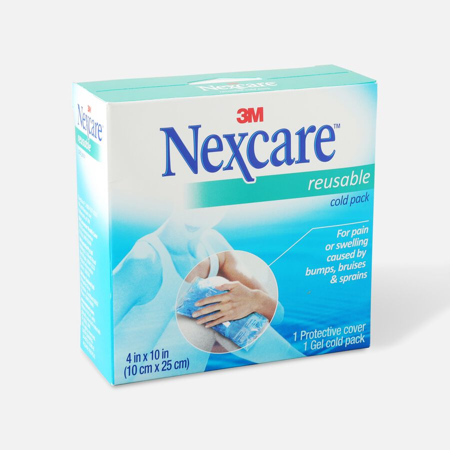 """3M Nexcare Reusable Cold Pack, 4"""" x 10"""", , large image number 2"""