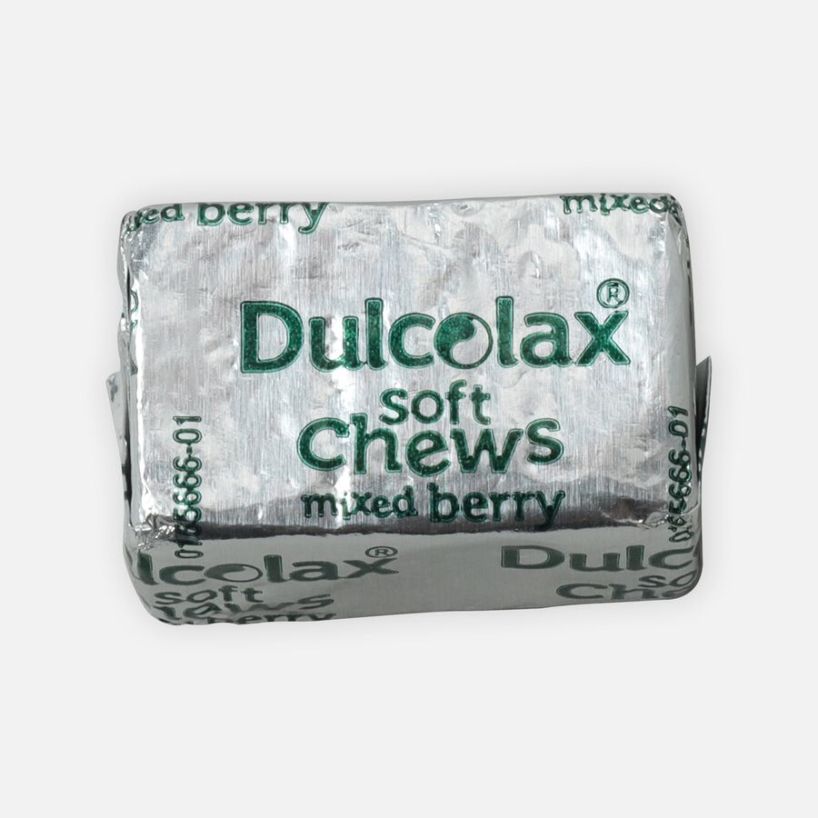 Dulcolax Soft Chews, Berry Flavored, 30 ct, , large image number 1