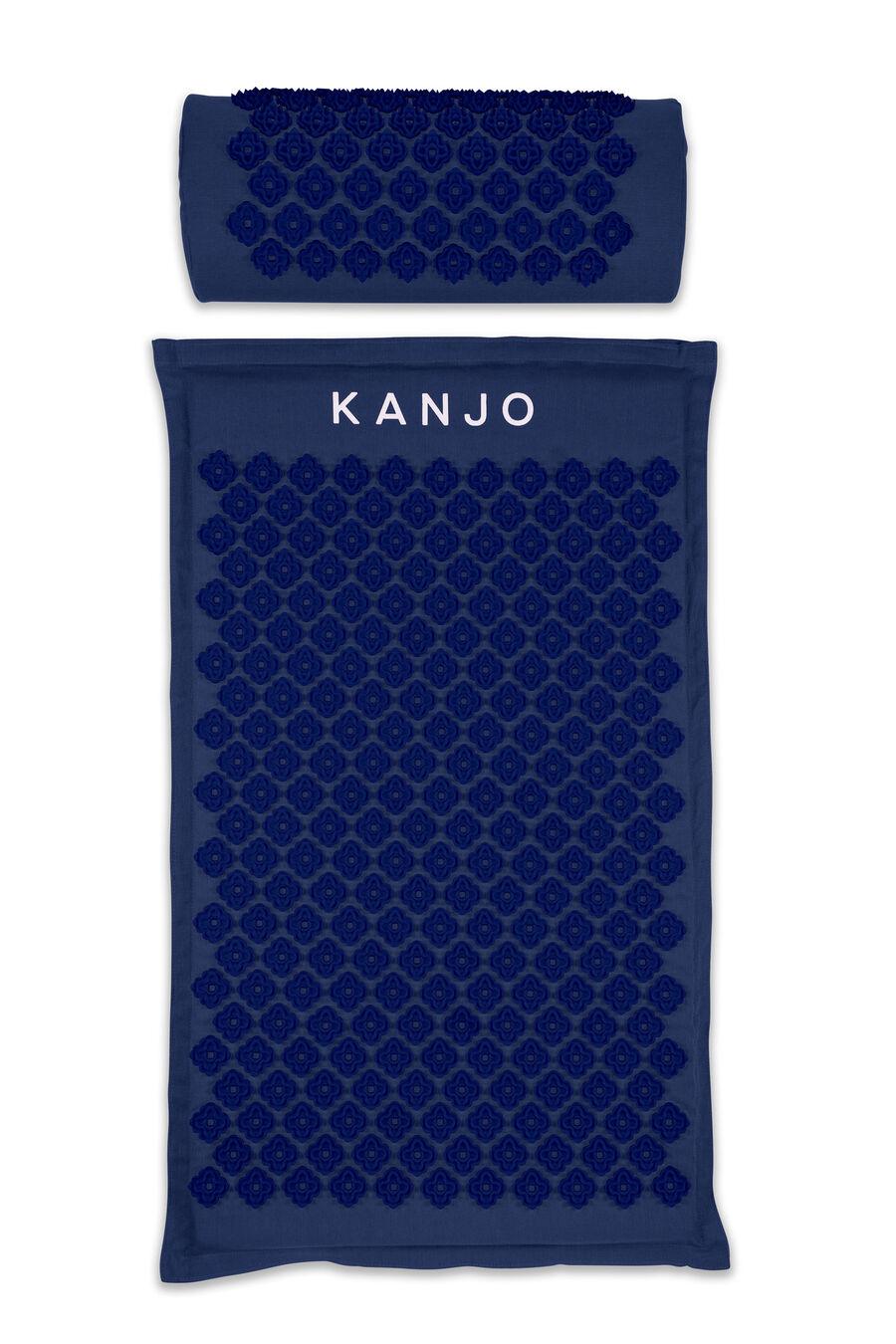 Kanjo Memory Foam Acupressure Mat Set, Navy Blue, , large image number 0