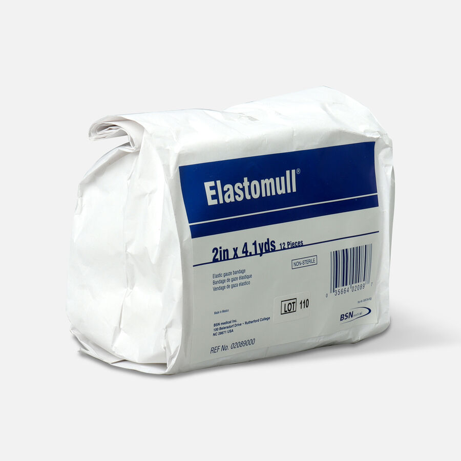 Elastomull Elastic Gauze Bandage, 2in x 4.1 yd, Non-Sterile, 12 ea, , large image number 1