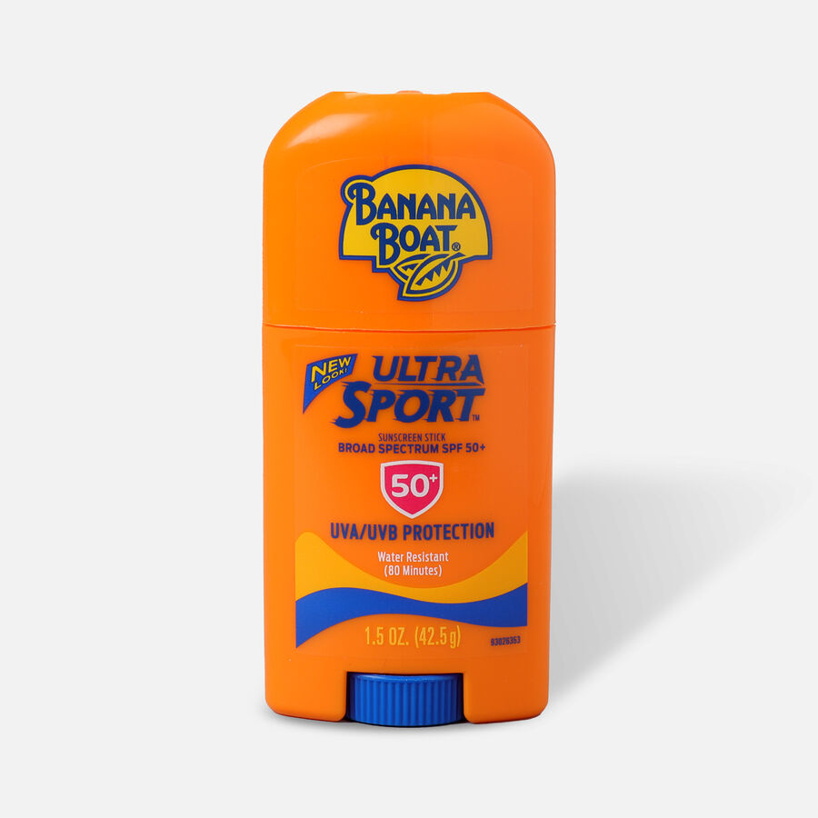 Banana Boat Sport Sunscreen Face Stick, SPF 50, 1.5oz, , large image number 0