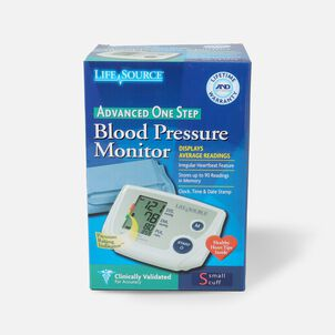 Lifesource Automatic Arm Blood Pressure Monitor with Small Cuff