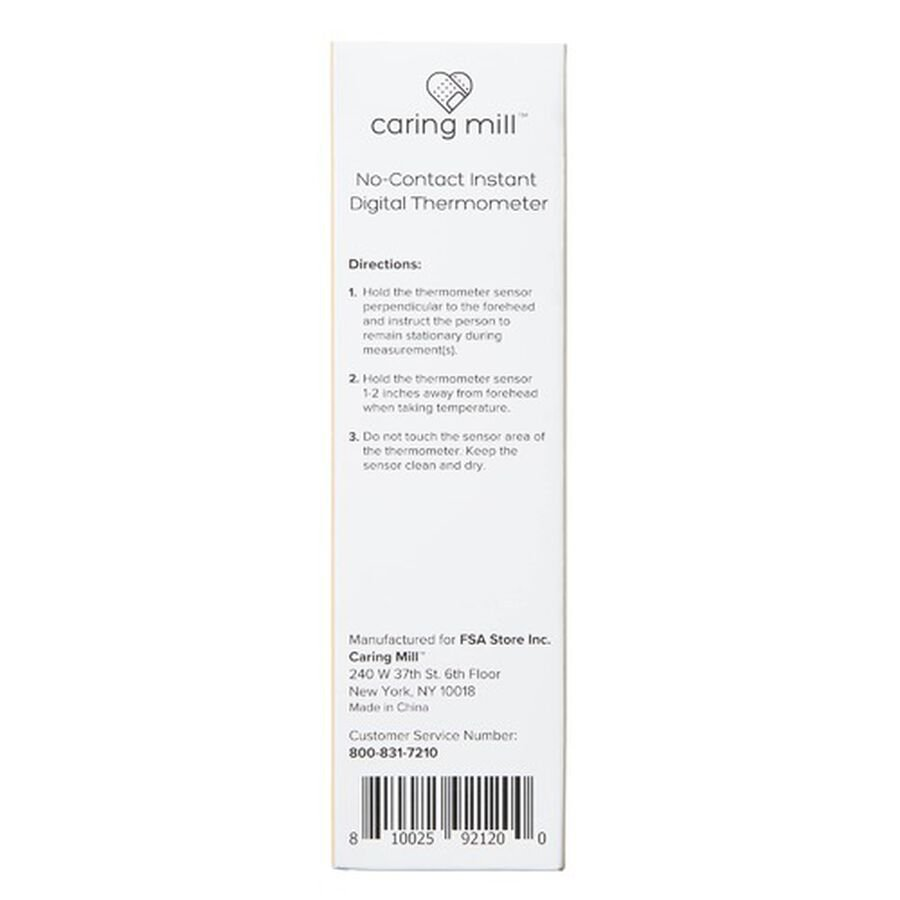 Caring Mill® No-Contact Instant Digital Thermometer, , large image number 2