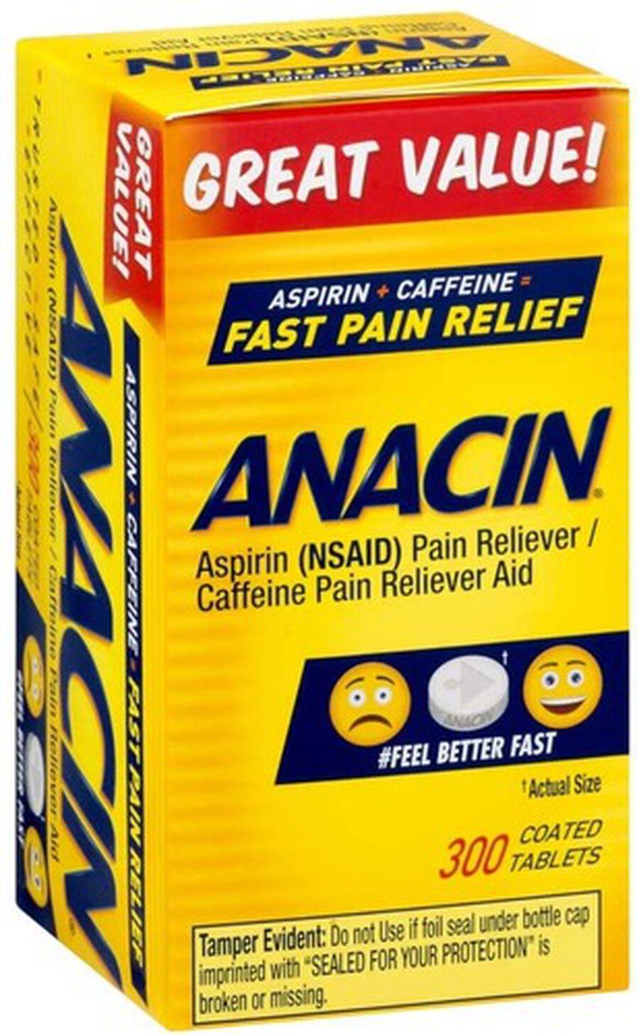 Anacin, Regular Strength, 300 count, , large image number 0