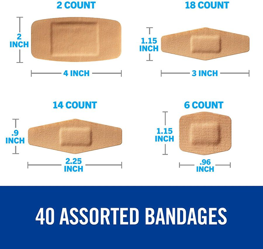 Nexcare DUO Bandage, Assorted, 40ct, , large image number 7