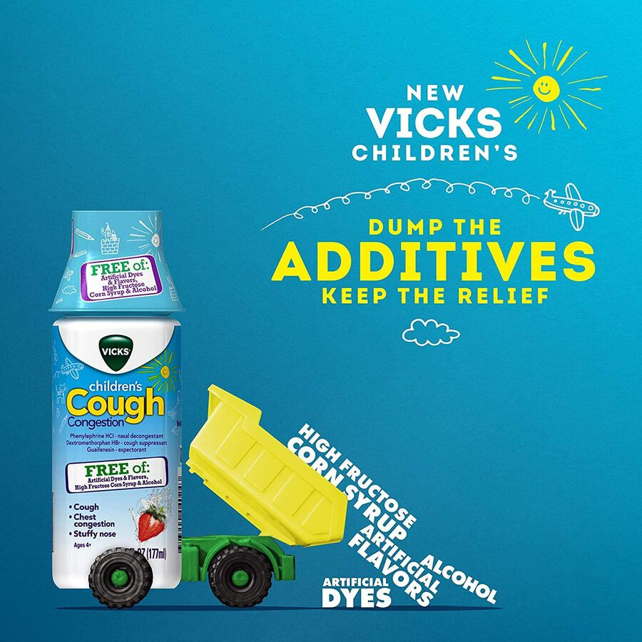 Vicks Children's Cold & Cough Day and Night, Combo Pack, , large image number 3