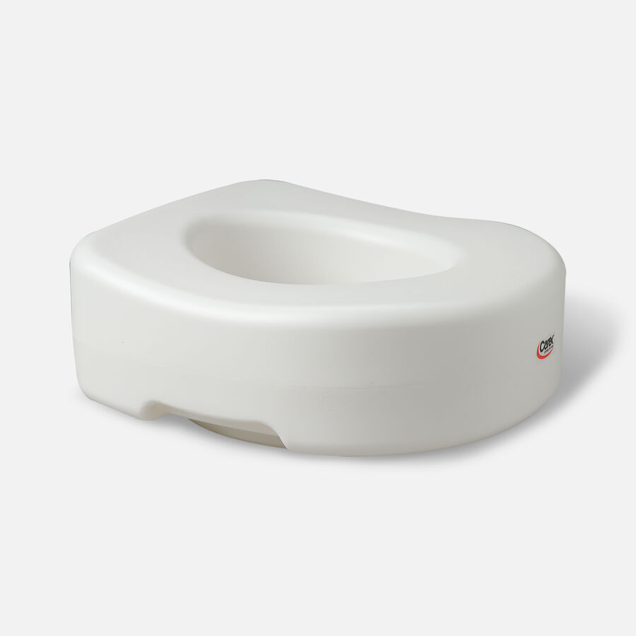 Carex Raised Toilet Seat with Blow Molded, Model: B302-C0 - 1 ea, , large image number 2