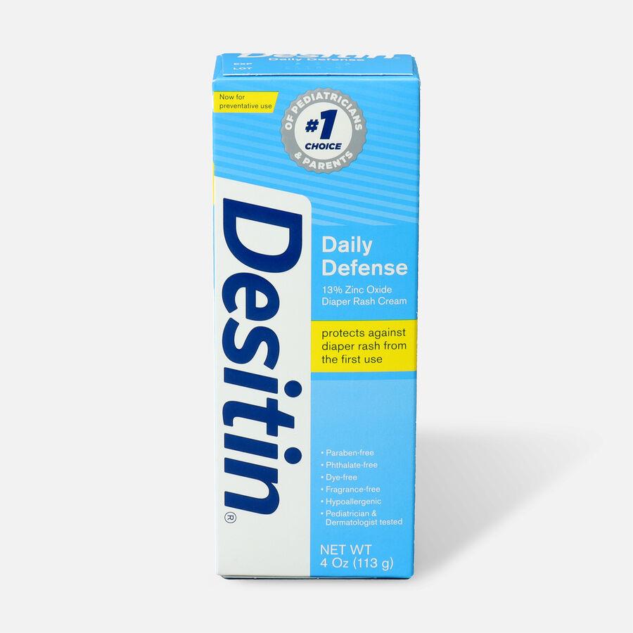 Desitin Daily Defense Zinc Oxide Diaper Rash Cream, , large image number 0