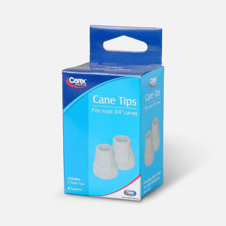 Carex Cane Tip 3/4 Gray Pack of 2, , large image number 2