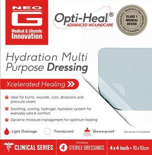 Neo G Hydration Multi Purpose Dressing, 4 x 4