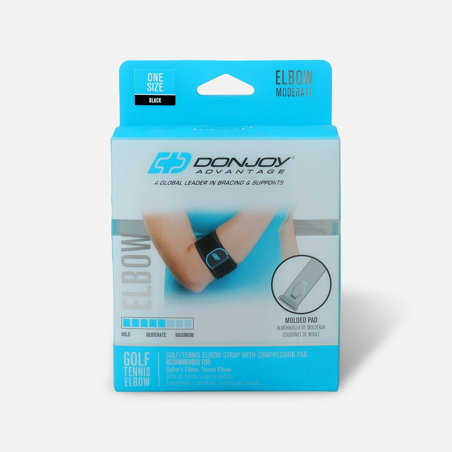 DonJoy Advantage Golf/Tennis Elbow, One Size, , large image number 0