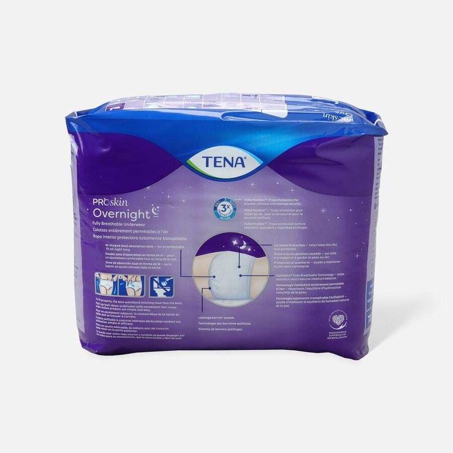 "TENA Protective Underwear, Overnight Super, Medium 34""- 44"", , large image number 1"
