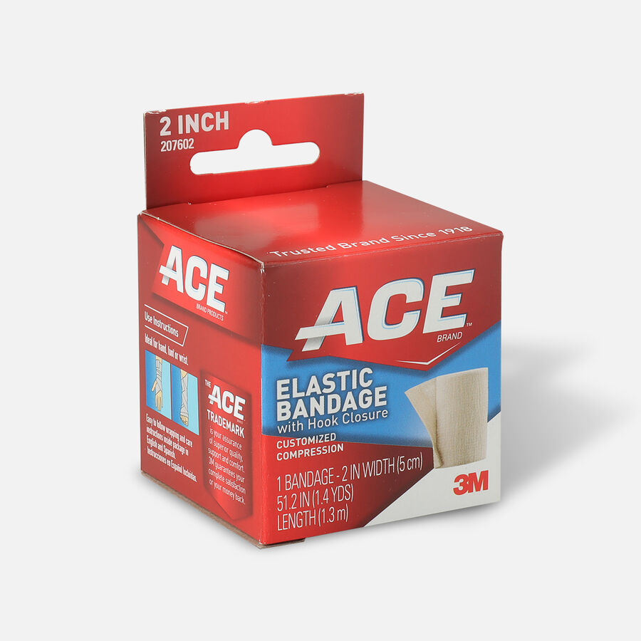 ACE Elastic Bandage with Hook Closure, , large image number 2
