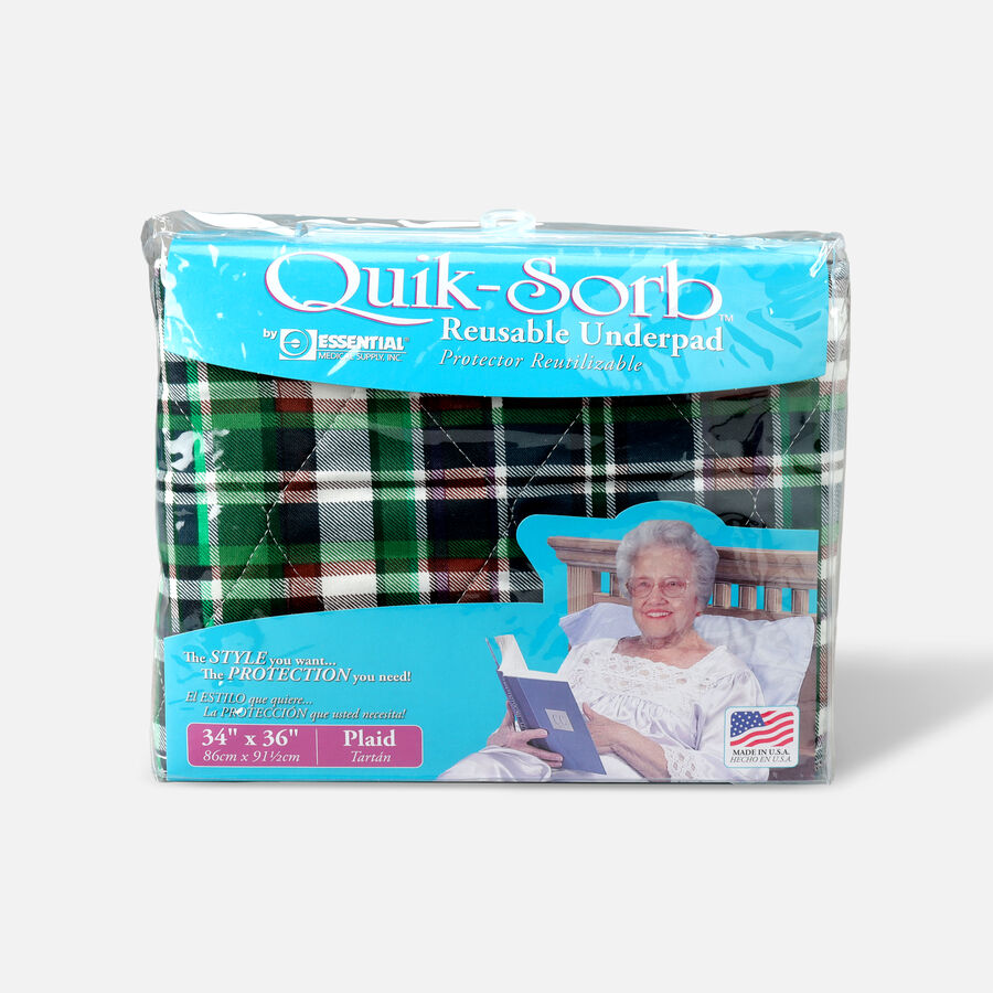 Essential Medical Supply Quik-Sorb Reusable Underpad, , large image number 5