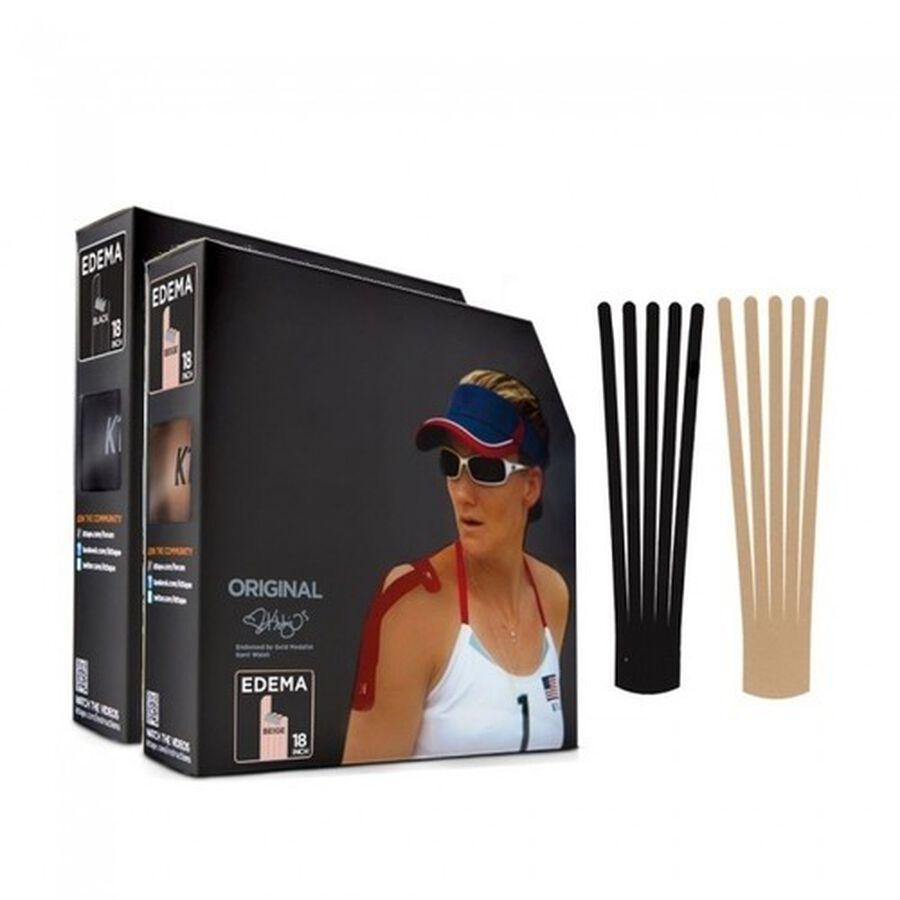 KT Tape Edema Strips, Beige, Cotton Jumbo Pack, 83 Strips, , large image number 1