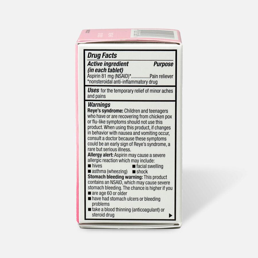 GoodSense® Aspirin 81 mg Low Dose Chewable Tablets, , large image number 1