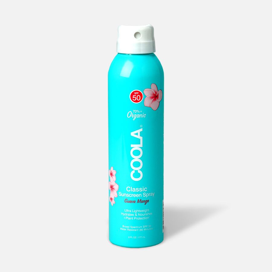 Coola Classic Body Organic Sunscreen Spray SPF 50, 6oz., , large image number 2