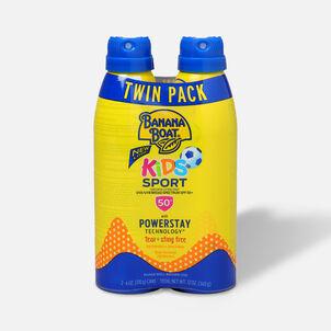 Banana Boat Kids Sport Sunscreen Spray SPF 50+, 12oz - Twin Pack