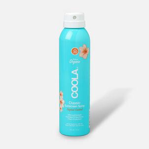 Coola Classic Body Organic Sunscreen Spray SPF 30 Tropical Coconut, 6oz.