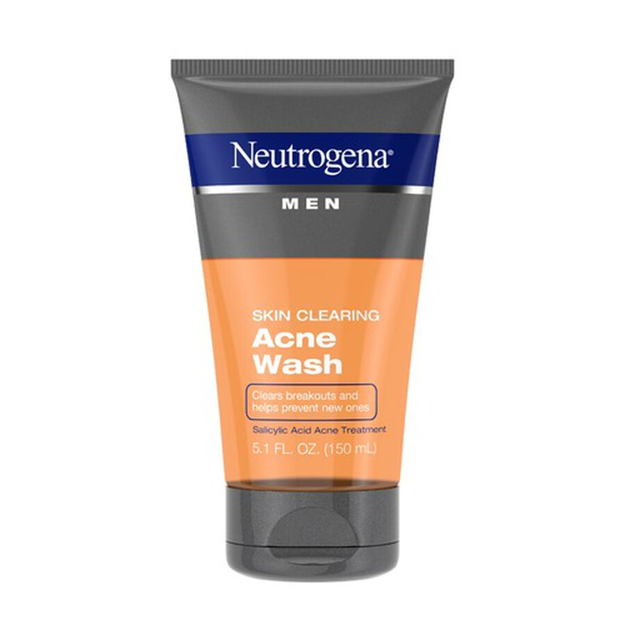 Neutrogena Men Skin Clearing Acne Wash, 5.1oz, , large image number 0