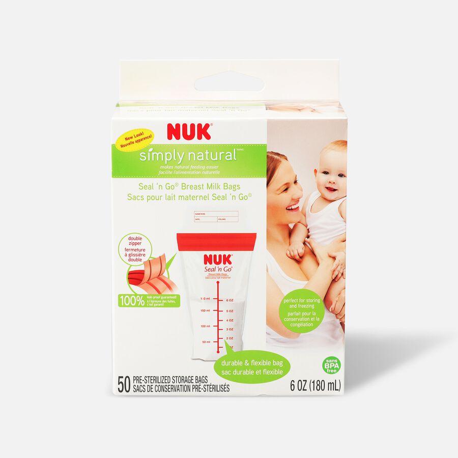 NUK® Seal 'N Go® Breast Milk Storage Bags, 50 ea, , large image number 0
